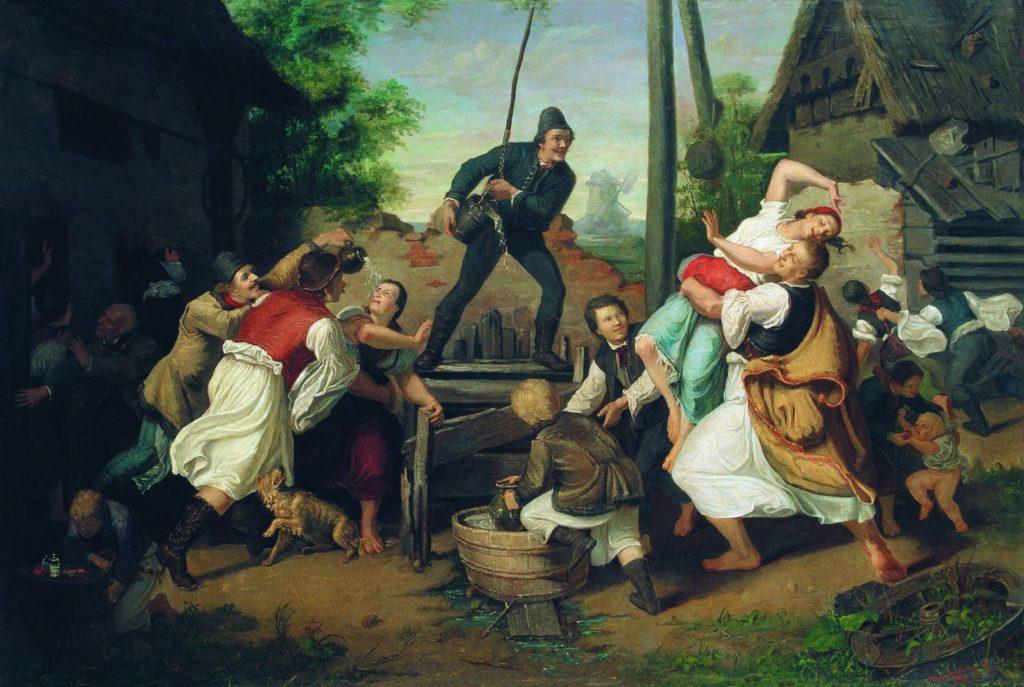 부활절 풍습 헝가리 물세례